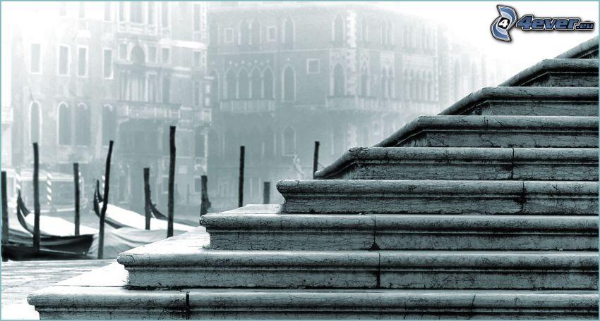 alte Treppen, City