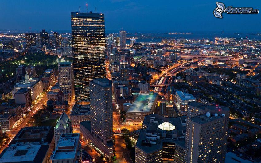 Boston, Nachtstadt