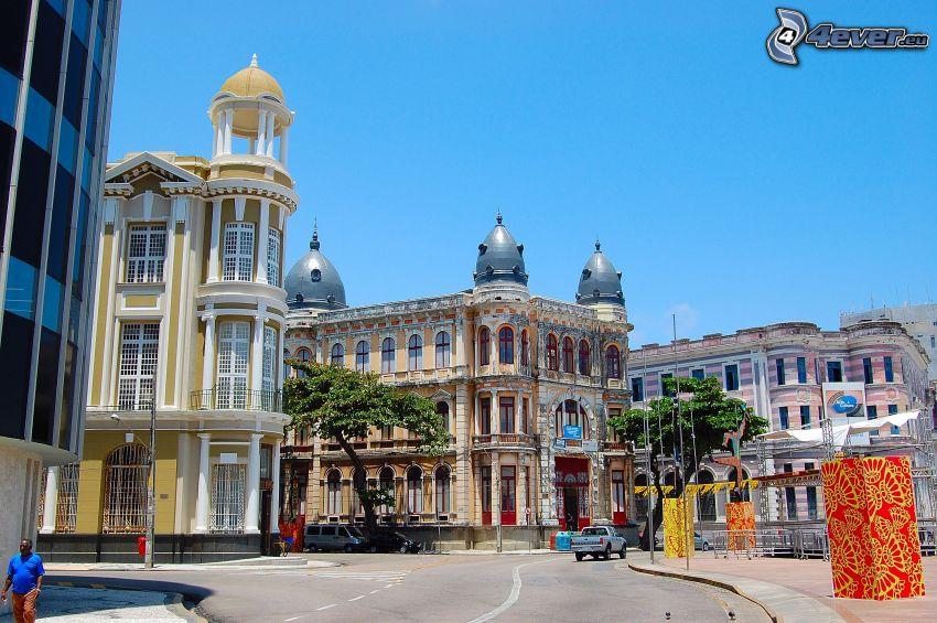 Brasilien, Gebäude, Straße