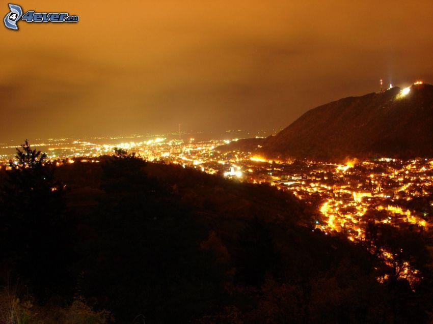 Brašov, Nachtstadt