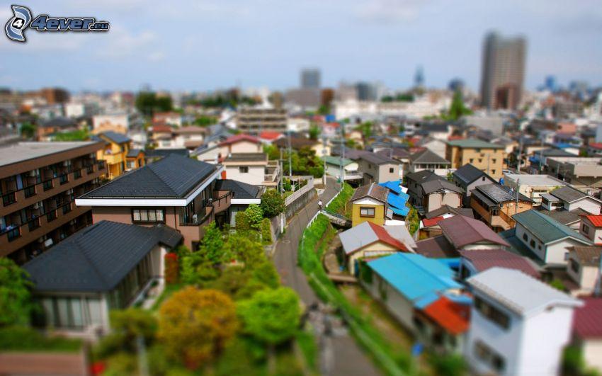 City, diorama