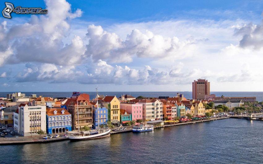 Curaçao, Meer, Wolken