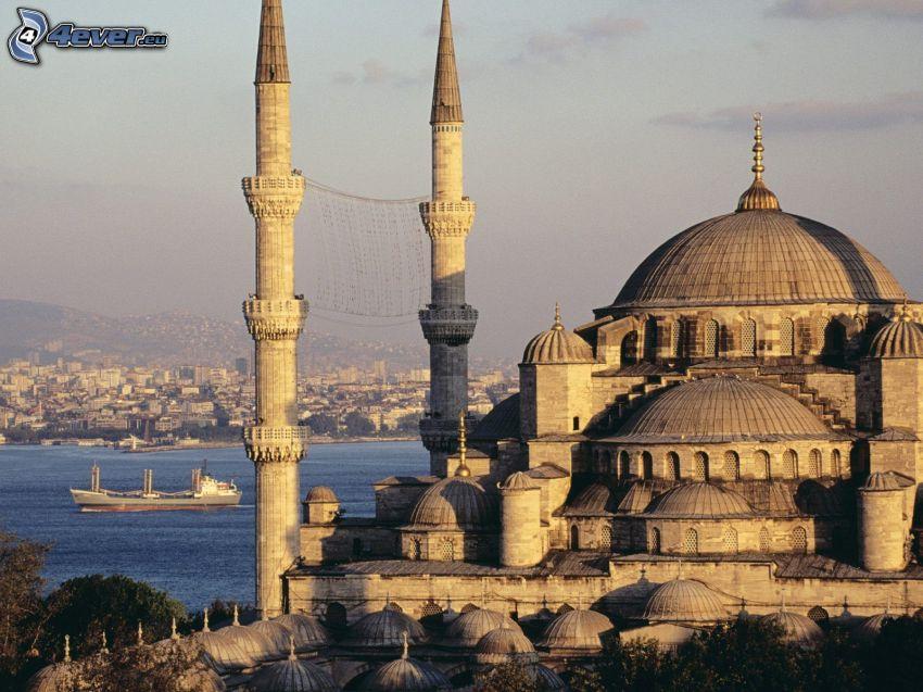 Die Blaue Moschee, Istanbul