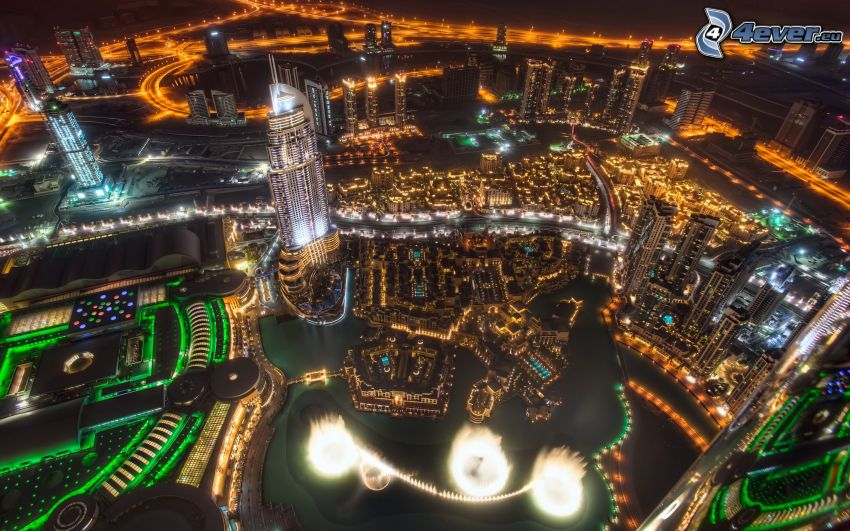 Dubai, Nachtstadt