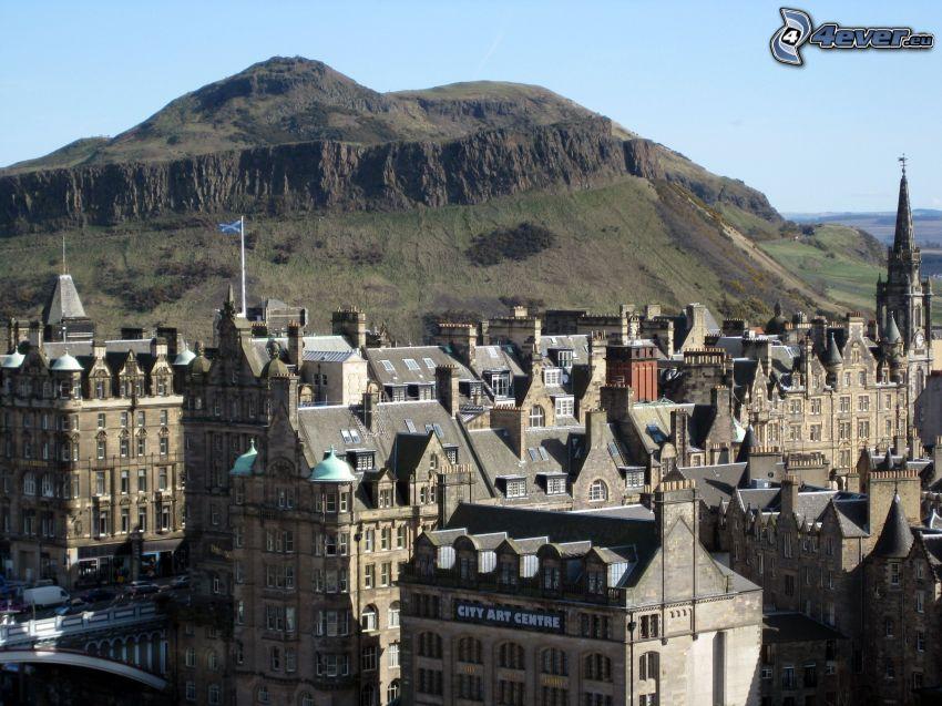 Edinburgh, Hügel