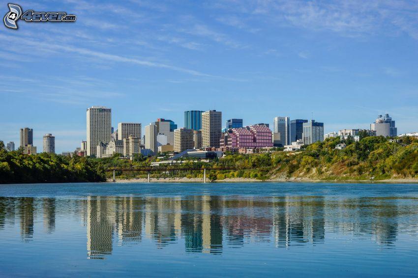 Edmonton, Fluss