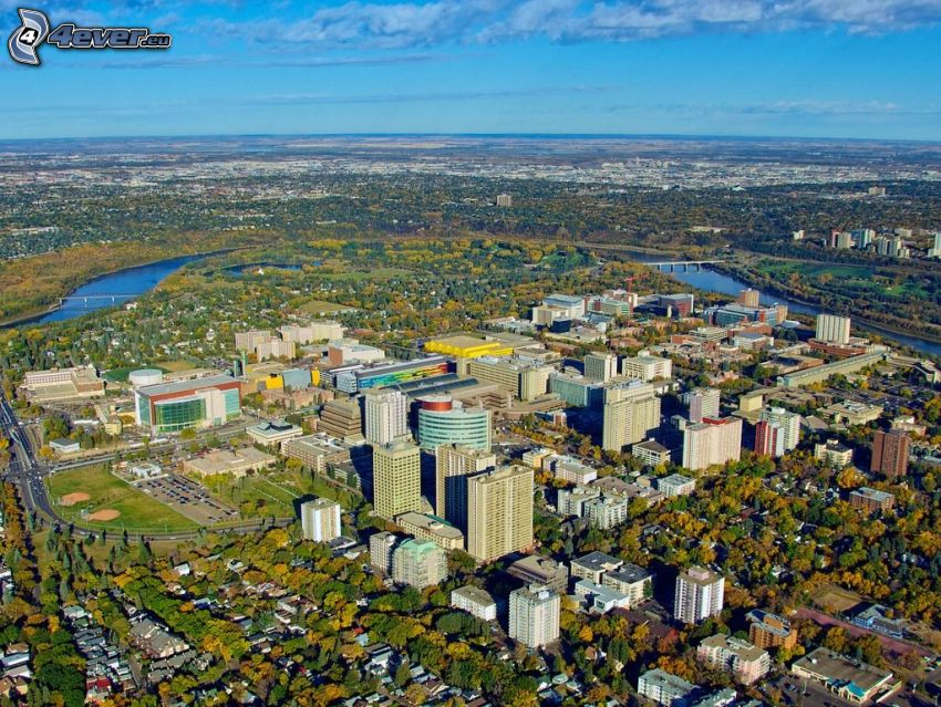 Edmonton, Wald