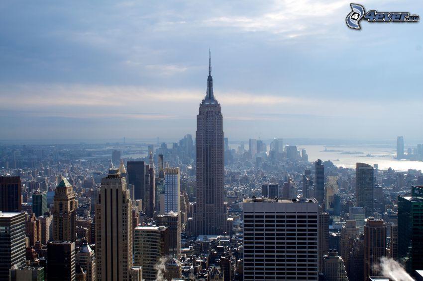 Empire State Building, Wolkenkratzer, Manhattan, New York