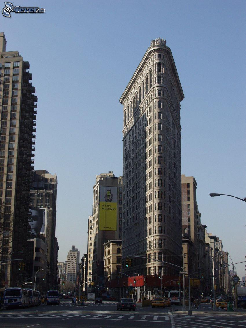 Flatiron, Manhattan, Straße
