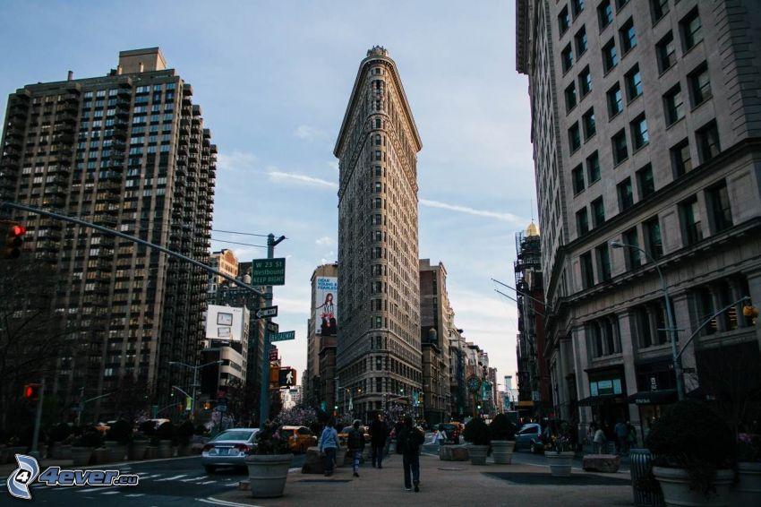 Flatiron, Manhattan, Straßen