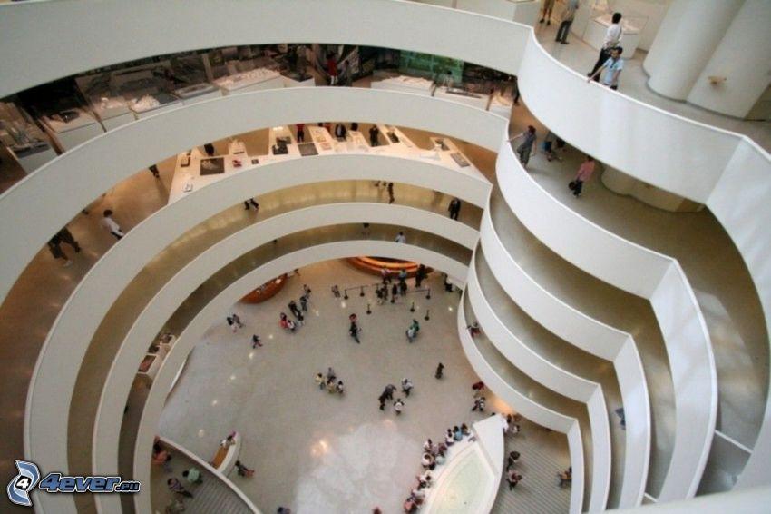 Guggenheim Museum, Innenraum, Museum