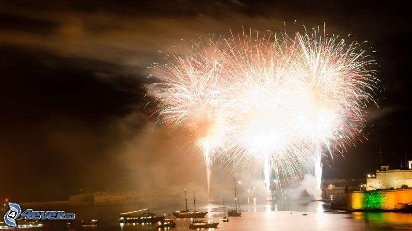 Hafen, Feuerwerk