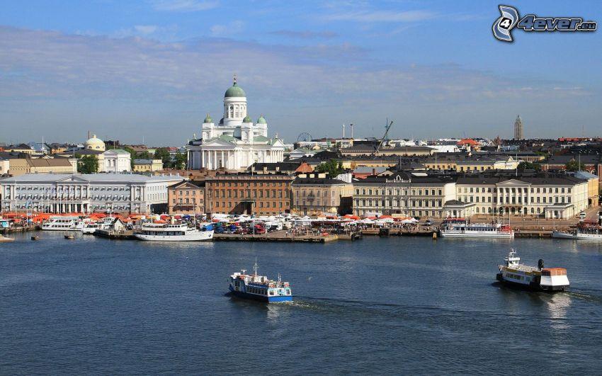 Helsinki, Finnland, Schiffen