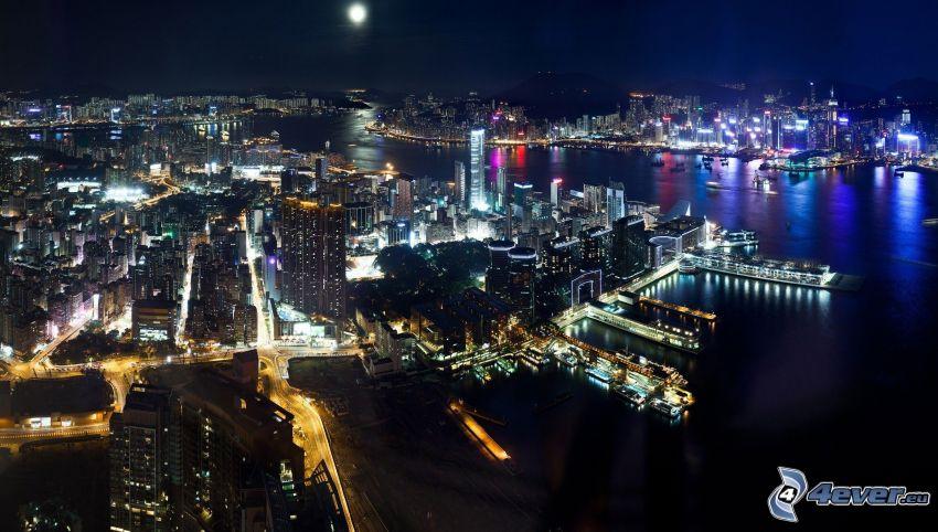 Hong Kong, Nachtstadt