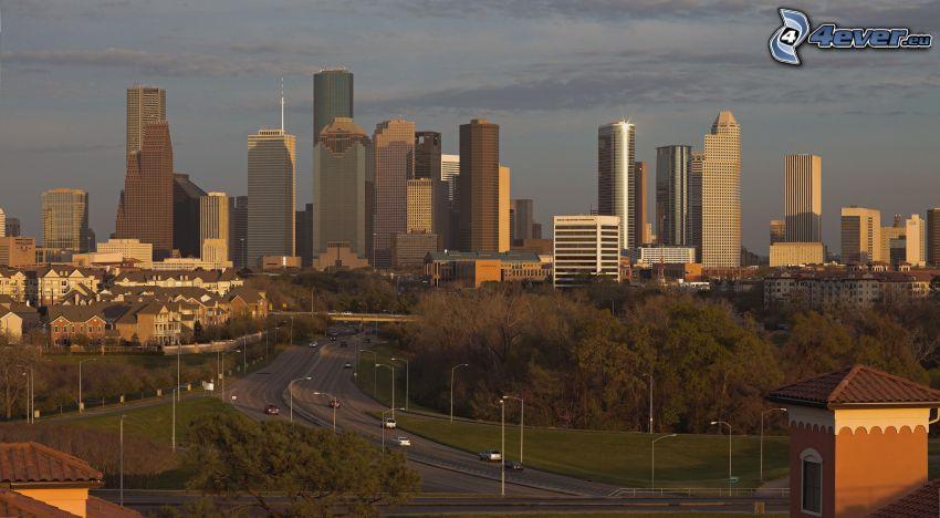 Houston, Wolkenkratzer