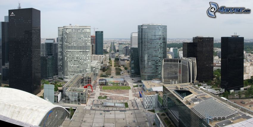 La Défense, Wolkenkratzer, Paris