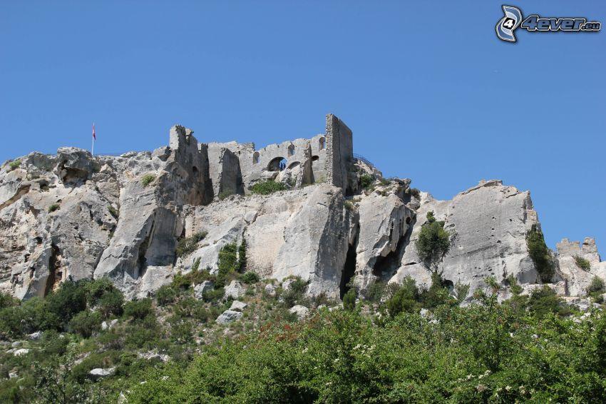 Les Baux de Provence, Schanzen