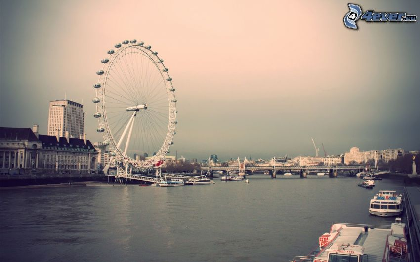 London Eye, Themse, London