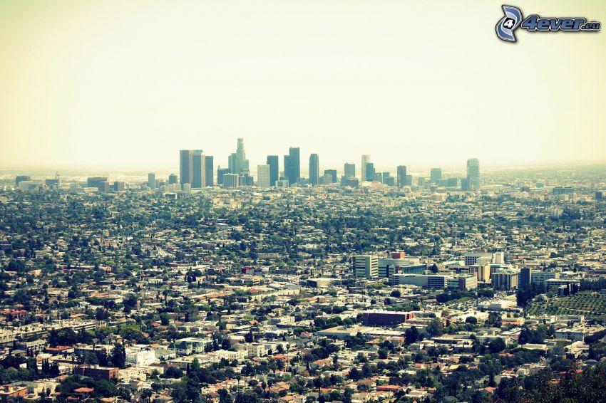 Los Angeles, Kalifornien, Wolkenkratzer