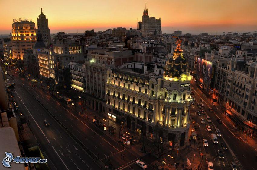 Madrid, Straße