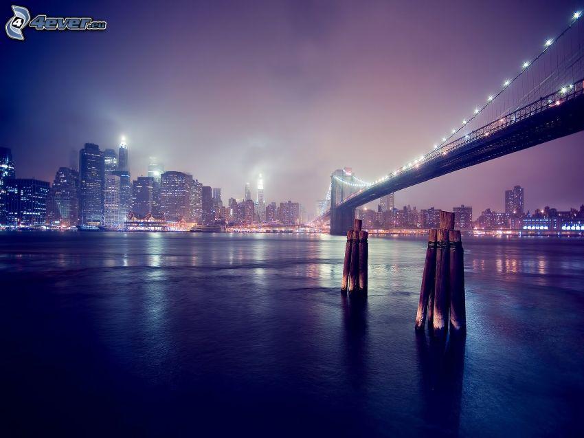 Manhattan, New York, Brooklyn Bridge