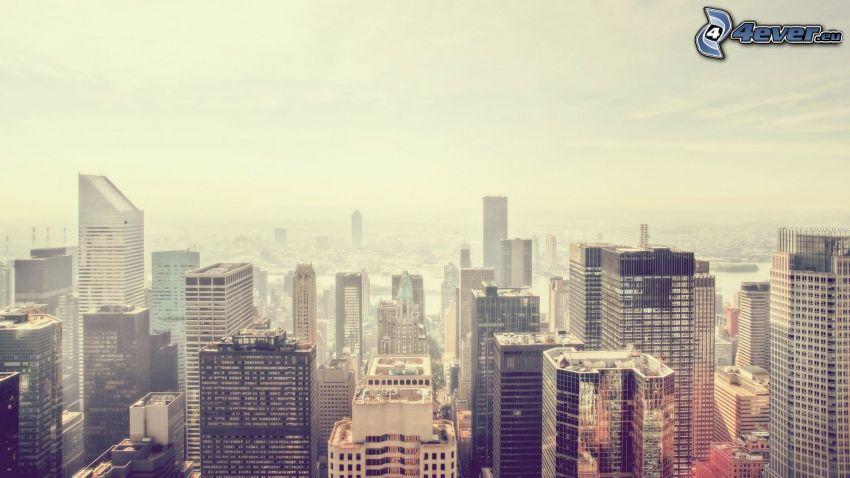 Manhattan, Wolkenkratzer