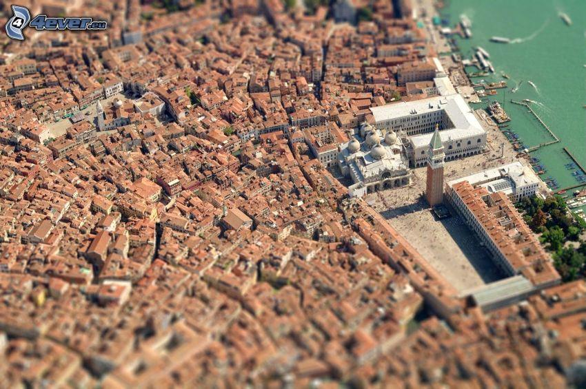 Markusdom, Venedig, diorama