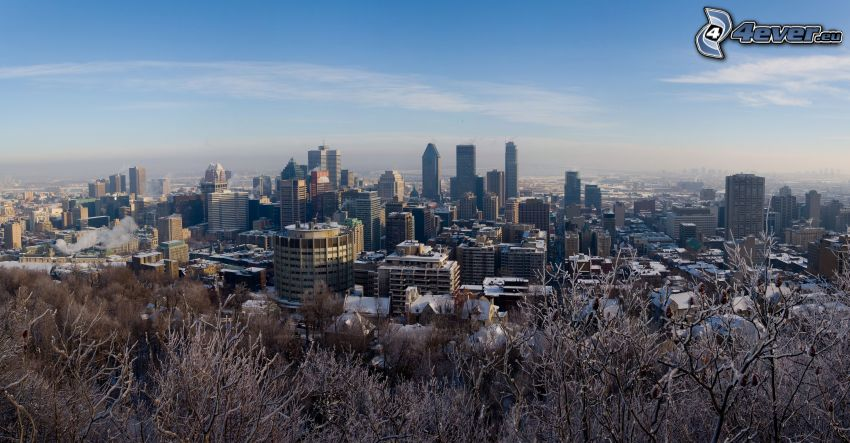 Montreal, Blick auf die Stadt