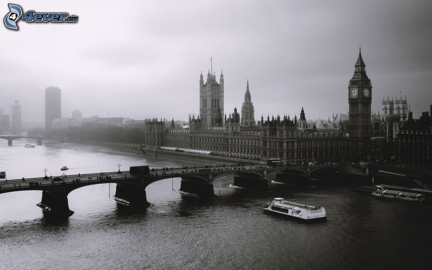 Palace of Westminster, London, Big Ben, britisches Parlament