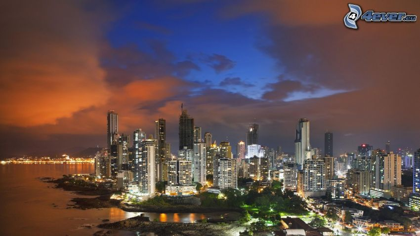 Panama, Wolkenkratzer