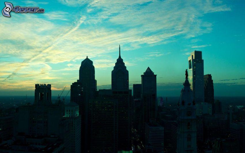 Philadelphia, Wolkenkratzer