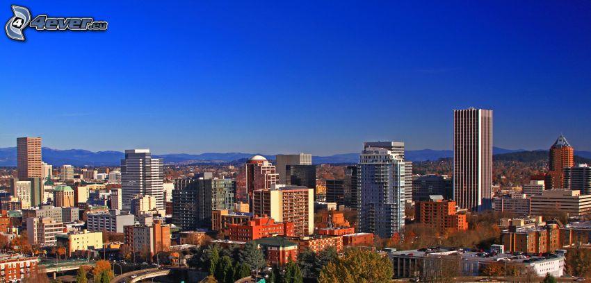 Portland, Wolkenkratzer