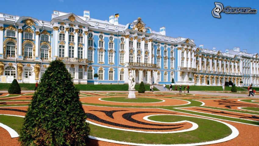 Sankt Petersburg, Gebäude, Park