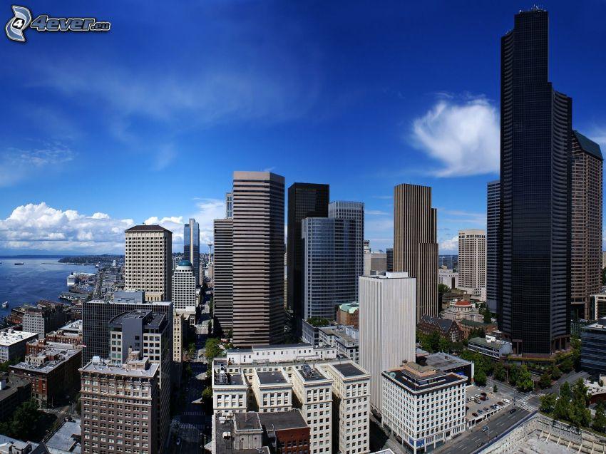 Seattle, Wolkenkratzer