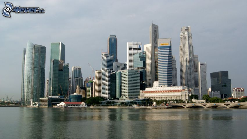 Singapur, Wolkenkratzer