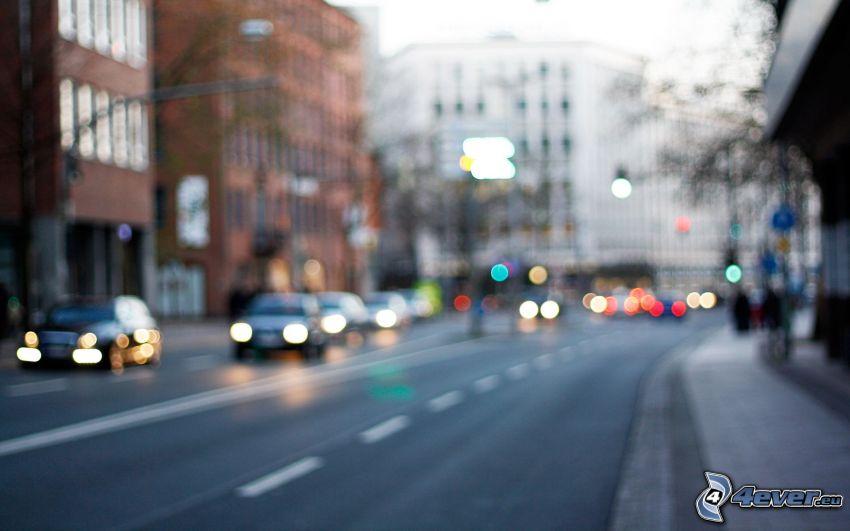Straße, City