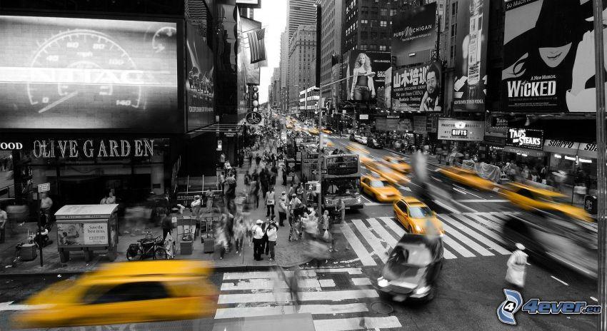Straße, New York