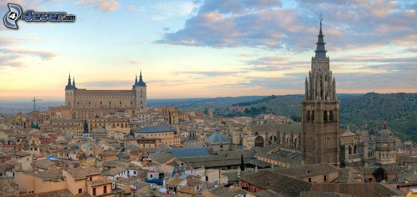 Toledo, Burg, Kirche