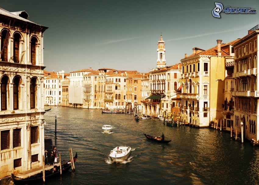 Venedig, Häuser