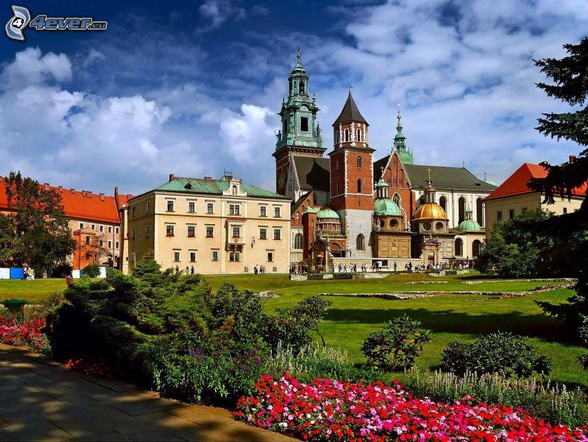 Wawel Schloss, Krakau, Hinterhof