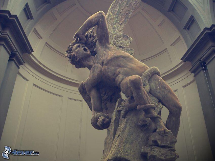 Statue des Engels, Fallen Angel