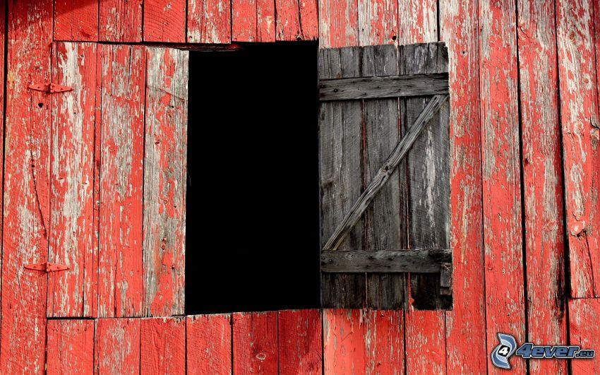 Tür, Holzwand