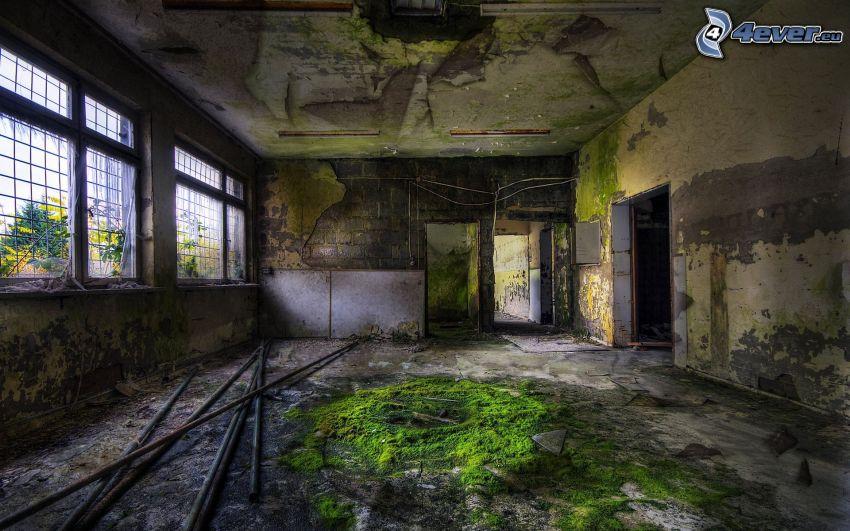 verlassenen Haus
