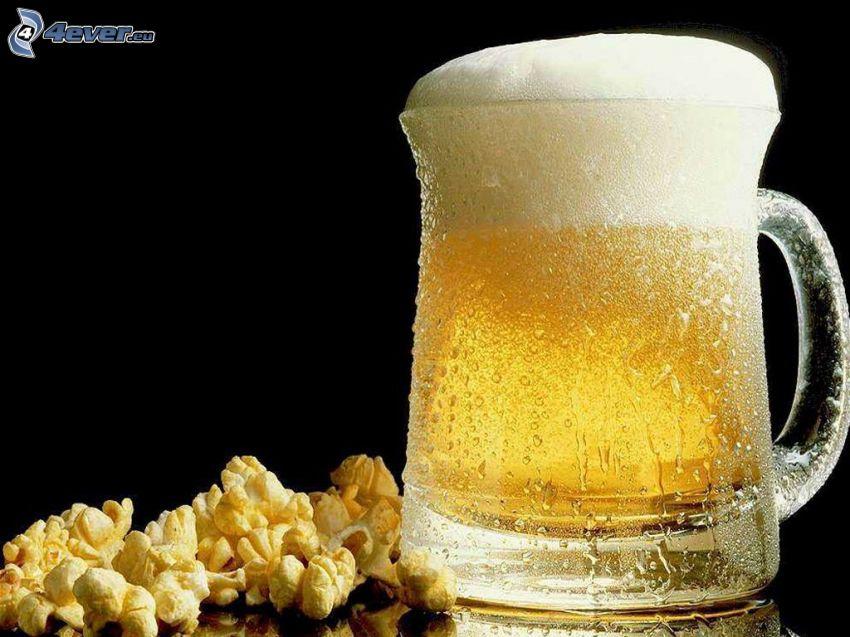 Bier, Popcorn