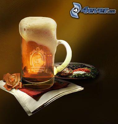 Bier, Tasse