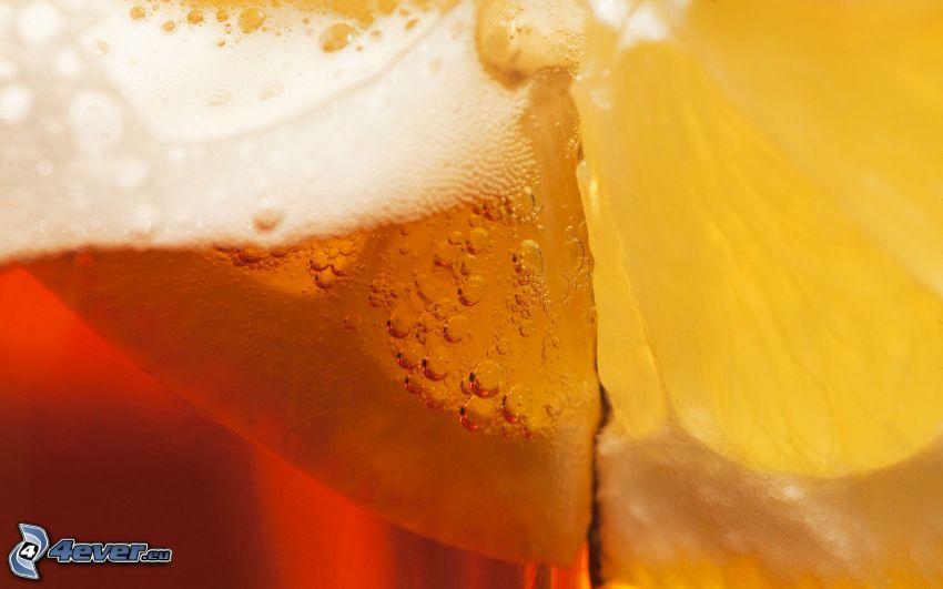 Bier, Zitrone