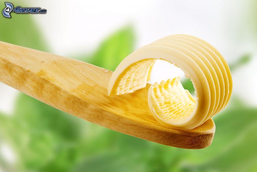 Butter, Kochlöffel