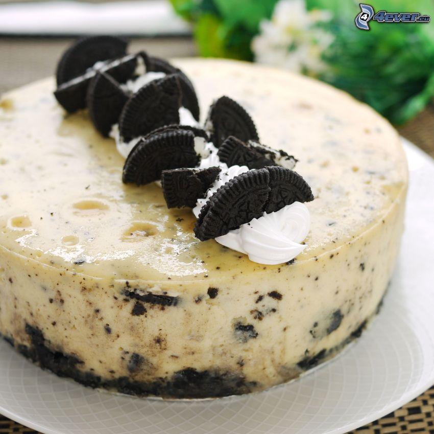 cheesecake, Oreo
