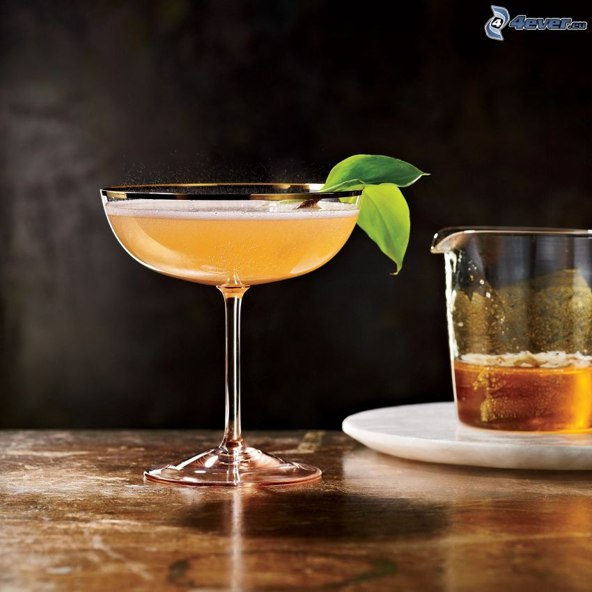 Cocktail, Blätter