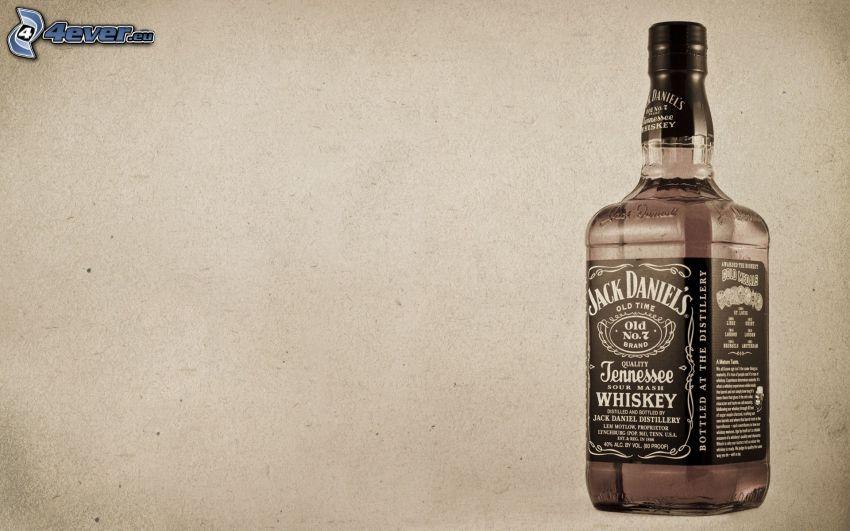 Flasche des Whiskys